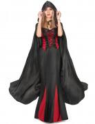 Mantello nero da Vampiro per adulto Halloween
