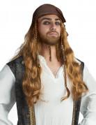 Parrucca Jake il pirata per adulto