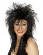 Parrucca rock nera da donna