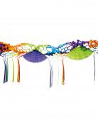 Ghirlanda di carta multicolor