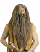 Parrucca stile barbaro per uomo