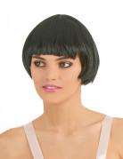 Parrucca nera stile charleston da donna