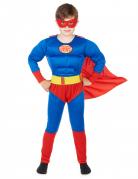 Costume super eroe imbottito bambino