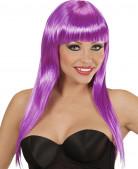 Parrucca viola glamour da donna
