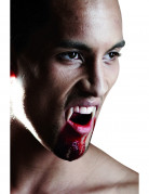Dentiera da vampiro per adulti Halloween deluxe