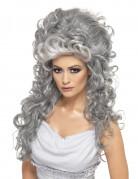 Parrucca grigia da contessa da donna