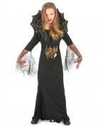 Costume strega ragno bambina Halloween