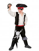 Costume da pirata con teschi bambino