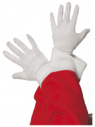 Un paio di guanti bianchi da Babbo Natale