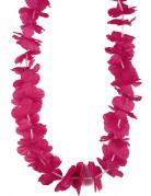 Collana hawaiana fucsia adulti