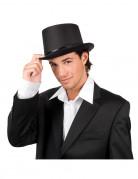 Cappello a cilindro nero elegante per adulto