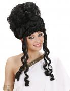 Parrucca nera da dea per donna
