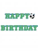 Striscione Happy Birthday calcio