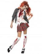 Costume scolara zombie per Halloween