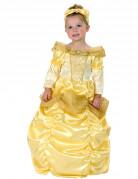 Costume da principessa color oro bimba