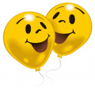 Palloncini Smiley 10 pezzi