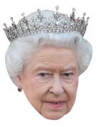 Maschera di cartone Regina Elisabetta