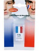 Matita make-up 3 in 1 colori bandiera Francia