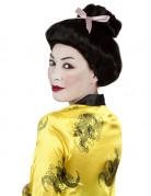 Parrucca nera da geisha per donna