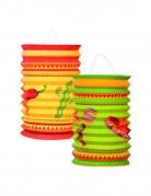 Lanterne di cartone in stile messicano