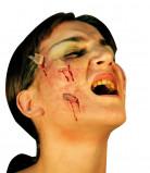 Finte ferite da cocci di vetro per adulti