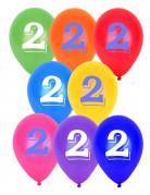 8 palloncini numero 2