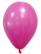 100 palloncini da 27 cm fucsia