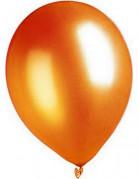 Palloncini arancioni metallizzati 29 cm