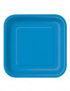 14 Piatti di carta blu