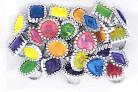 24 anelli con diamante