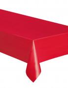 Tovaglia rettangolare di plastica rossa