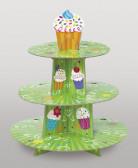 Espositore per dolci tema cupcakes