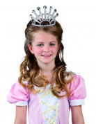 Diadema da principessa in plastica per bambina