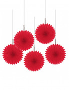 Decorazioni a soffitto fiore rosso