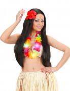 Collana Hawai colorata e luminosa