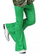 Pantalone disco verde da uomo