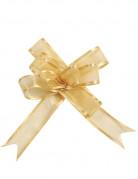 5 Mini nodi di organza oro