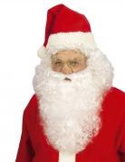 Parrucca con barba Babbo Natale per uomo
