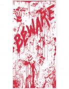 Decorazione per porta rosso sangue Halloween