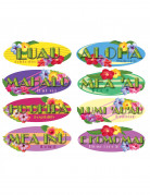 8 decorazioni murali Hawaiane