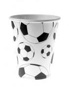 10 bicchieri di carta palloni calcio