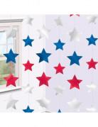 Set di 6 stelle a sospensione fantasia Stati Uniti