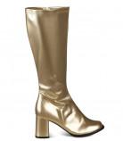 Stivali da donna colore oro