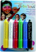 Set di 6 matite da trucco assortite