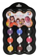 Trucchi per bambini 9 colori