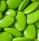 Confetti di cioccolato color verde menta