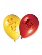 8 palloncini colorati di Mickey Mouse per feste