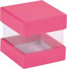 6 Scatoline cubo fucsia