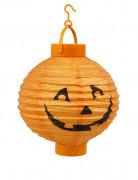 Lanterna con led luminosi zucca di Halloween