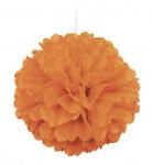 Sfera decorativa arancione
